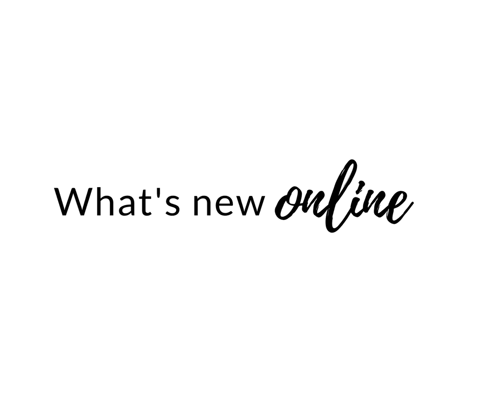 What's New Online