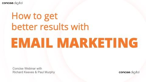 Get better results with email marketing