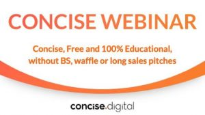Concise Webinar for digital marketing you can trust