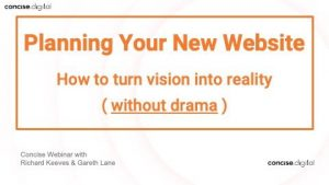 Planning Your New Website